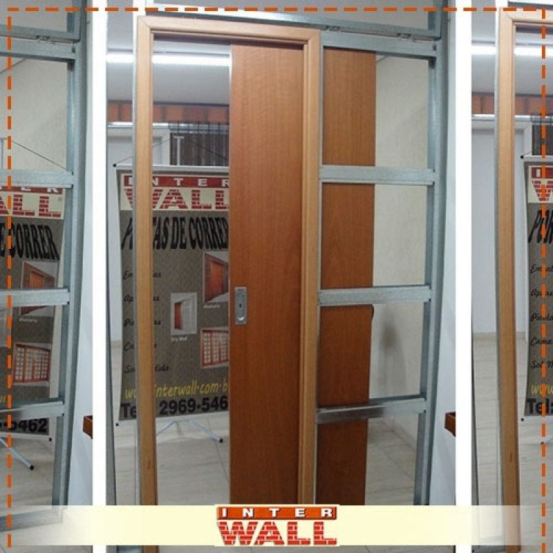 Empresa de Porta de Correr Embutida para Closet Cananéia - Empresa de Porta de Correr Embutida para Quarto