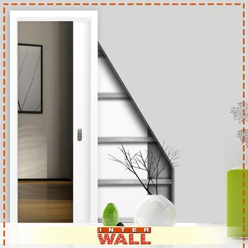 Empresa Porta de Correr Embutida Parede Drywall Salesópolis - Empresa Porta de Correr Embutida Parede Drywall