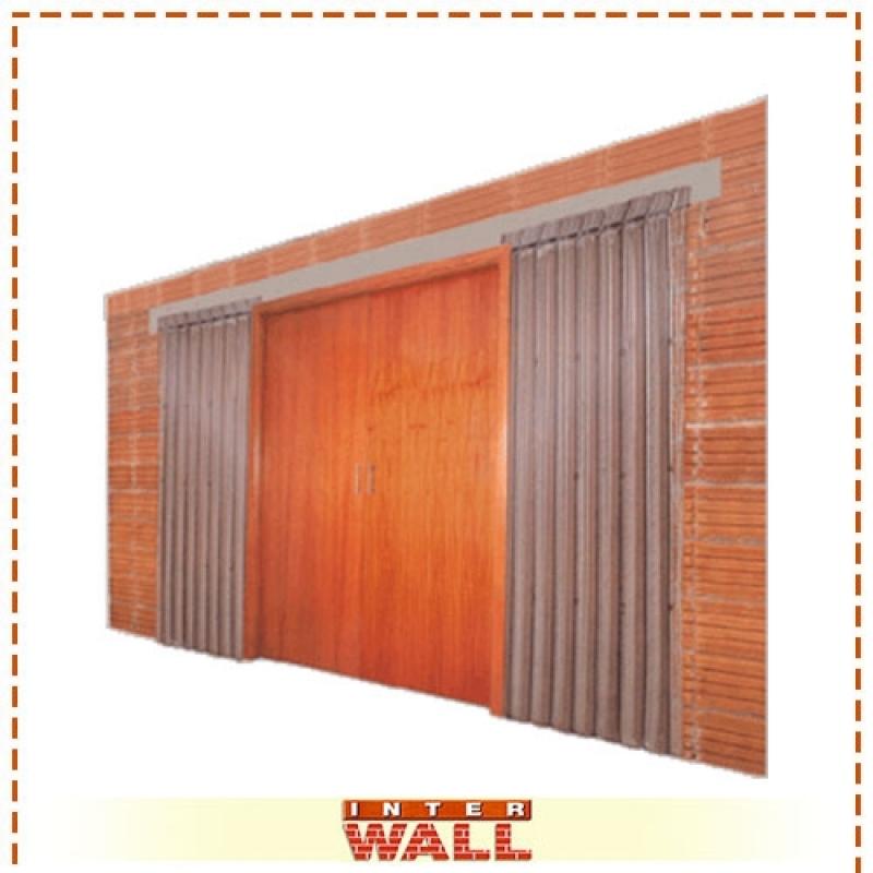 Portas de Correr de Madeira Dupla Arujá - Porta de Correr de Madeira Interna
