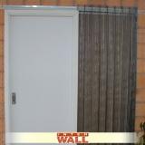 orçamento de porta de correr em madeira área externa Poá