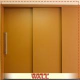 porta de correr de madeira entrada valor Poá
