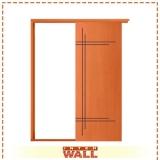 porta de correr em madeira para closet preço Franco da Rocha