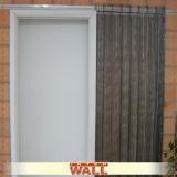 porta de correr em madeira para corredor Guararema