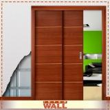porta de madeira para banheiro preço Juquehy
