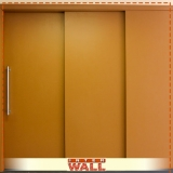 portas de correr em madeira instalação Santa Isabel