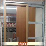 Porta de Correr Embutida para Drywall