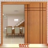 portas de madeira para ambiente externo Zona oeste