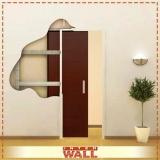 portas em madeira para parede em gesso Guarujá