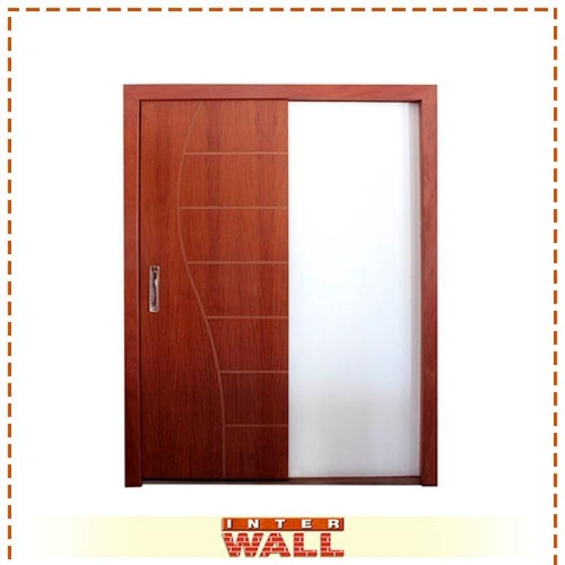 Valor de Porta de Madeira para Banheiro Franco da Rocha - Porta de Madeira para Corredor
